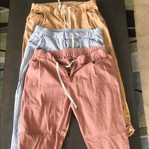 Bundle- Old Navy Drawstring Cropped Pants